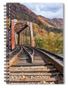 Rail Bridge Spiral Notebook