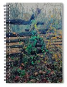 Rail Fence At Fox Gap Spiral Notebook
