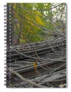 Rail Overgrowth Spiral Notebook