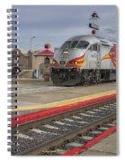 Rail Runner Train Albuquerque Nm Sc02985 Spiral Notebook
