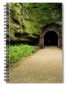 Rail Trail Tunnel 2 A Spiral Notebook