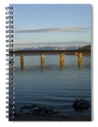 Railroad Bridge Over The Pend Oreille Spiral Notebook