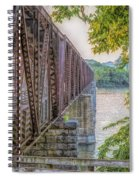 Railroad Bridge14 Spiral Notebook