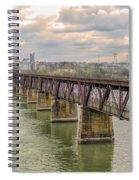 Railroad Bridge3 Spiral Notebook