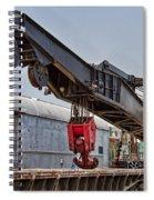Railroad Crane Spiral Notebook