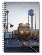 Railroad Crossing Spiral Notebook