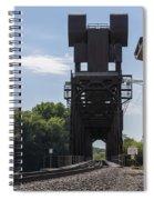 Railroad Lift Bridge 2 C Spiral Notebook