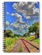 Railroad Tracks Spiral Notebook