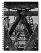Railroad Trestle Panoramic 2 Spiral Notebook