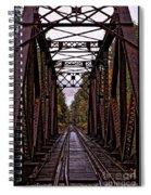 Railroad Trestle Spiral Notebook