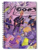 Railbenders At The Goat Soup And Whiskey Spiral Notebook