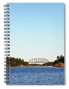Railway Bridge Spiral Notebook