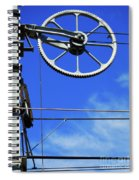Railway Catenary Spiral Notebook