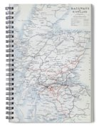 Railways Of Scotland Spiral Notebook