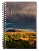 Rain And Rainbows  Spiral Notebook