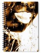 Rain Bronze Spiral Notebook