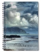 Rain Clearing Kaneohe Bay Spiral Notebook