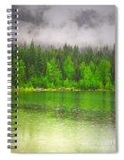 Rain Clouds Spiral Notebook