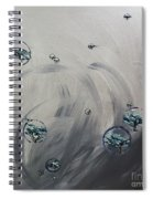 Rain Dance Spiral Notebook