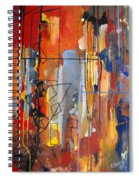 Rain Down Spiral Notebook