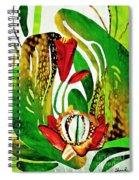 Rain Flowers Spiral Notebook