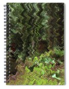 Rain Forest Abstract Spiral Notebook