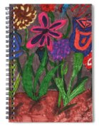 Rain In The Night Sky Spiral Notebook