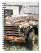 Rain On Rust 1 Spiral Notebook
