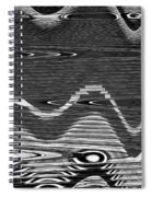 Rain On The Island Spiral Notebook