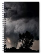 Rain Shaft 01 Spiral Notebook