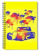 Rain Showers Spiral Notebook