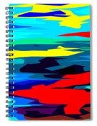 Rainbow 4 Spiral Notebook