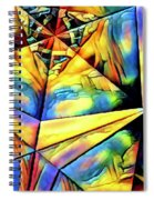 Rainbow Abstract Spiral Notebook