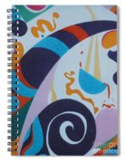 Rainbow And Pot Of Gold Spiral Notebook