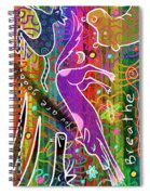 Rainbow Animals Yoga Mat Spiral Notebook