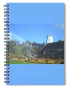 Rainbow At The Falls Spiral Notebook