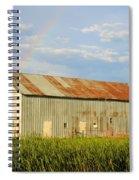 Rainbow Barn Spiral Notebook