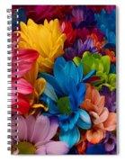 Rainbow Bouquet Spiral Notebook