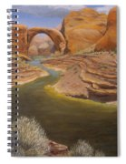 Rainbow Bridge Spiral Notebook