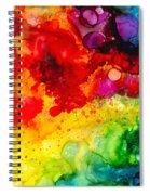 Rainbow Bubbles Spiral Notebook