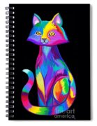 Rainbow Cat Spiral Notebook