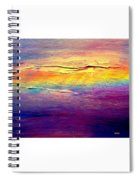 Rainbow Clouds Full Spectrum Spiral Notebook