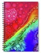 Rainbow Coaster  Spiral Notebook