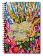Rainbow-colored Sunfish Spiral Notebook