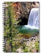 Rainbow Falls 1 Spiral Notebook