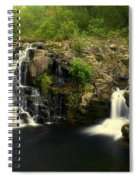 Rainbow Falls  2 Spiral Notebook