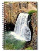 Rainbow Falls 3 Spiral Notebook
