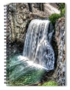 Rainbow Falls 5 Spiral Notebook