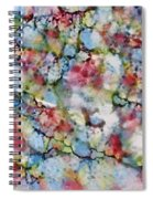 Rainbow Granite Spiral Notebook