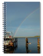 Rainbow In Apalachicola Fl Spiral Notebook